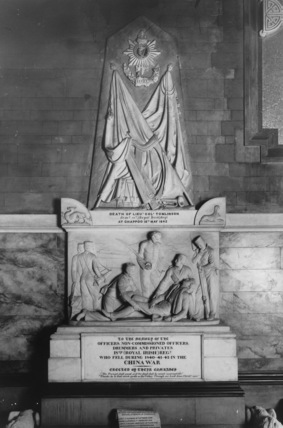Dublin Cathedral;Cathedral Church;Monument to Lt. Col. Tomlinson and soldiers of the 18th Royal Irish Regiment