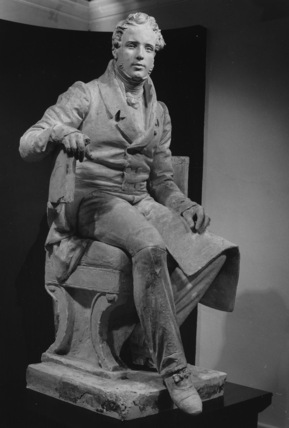 Vincenzo Bellini, model for the monument in Piazza Stesicoro, Cattania