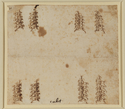 Cavalry pageant (?) squadrons of cavalry attacking each other, four squadrons of ten horsemen