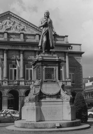 Statue of Gretry