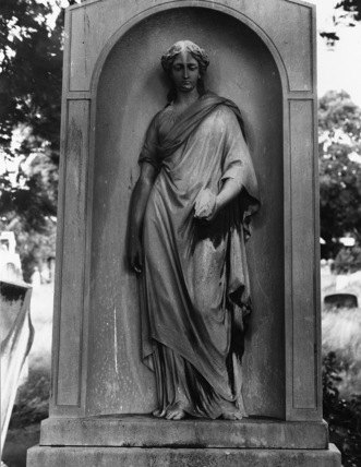 Monument to James Ward with statue of the Muse of Painting