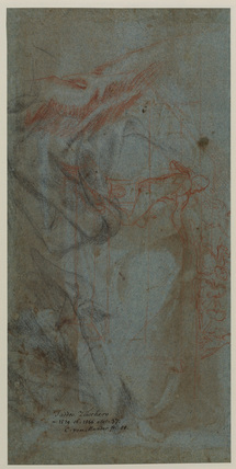 Studies for 'The Last Supper' (verso)