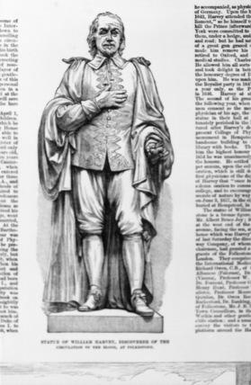 Statue of Sir William Harvey