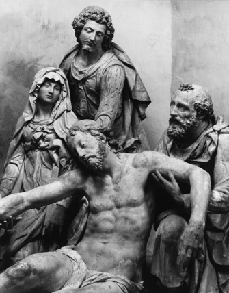 Cathedral of St Julien;Entombment Group