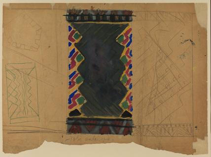 Sheet of rug designs