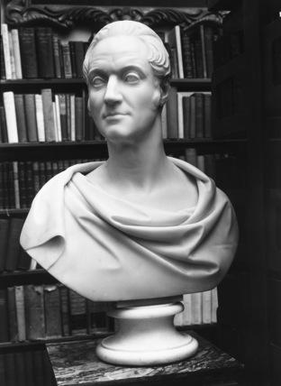 Bust of Sir Thomas Cullum