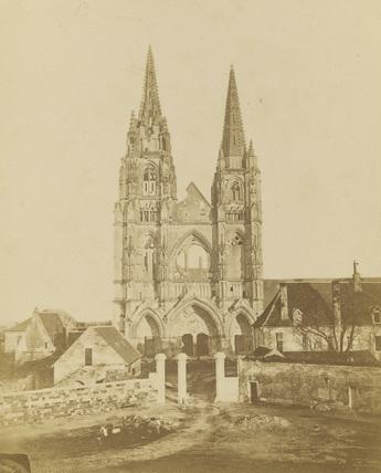 Abbey of St Jean des Vignes;Abbey church