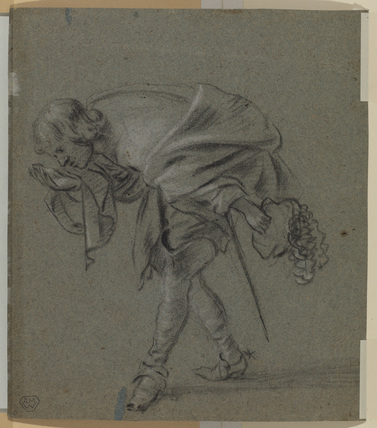 Man bowing (verso)