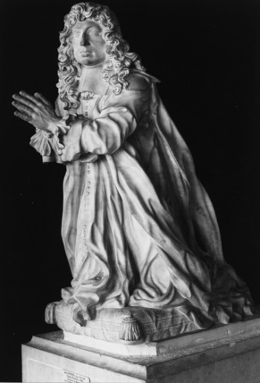 Effigy from the tomb of Claude Boucher