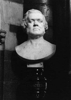 Bust of Thackeray
