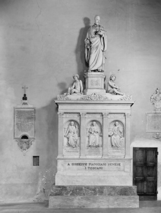 San Domenico;Monument to Giuseppe Pianigiani