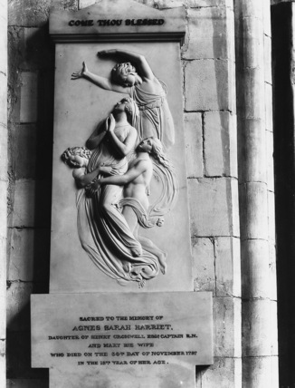 Chichester Cathedral;Cathedral Church;Monument to Agnes Cromwell