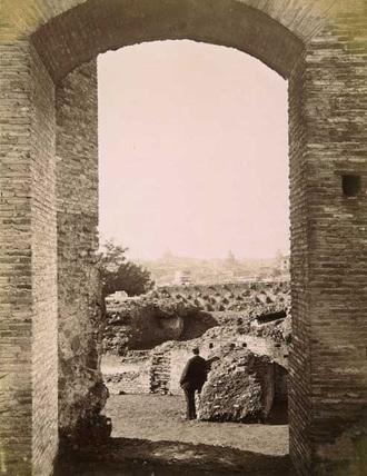 The Palatine;Palace of  Domitian