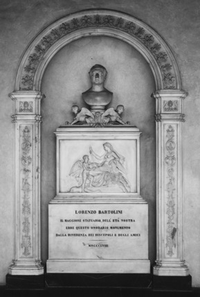 Santa Croce;Church of Santa Croce;Monument to Lorenzo Bartolini