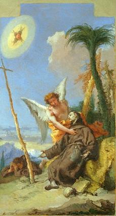 Stigmatization of Saint Francis
