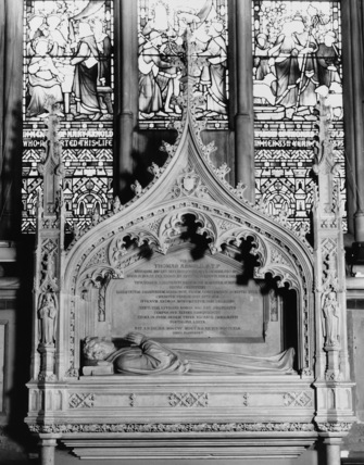 Rugby School;Monument to Dr Thomas Arnold