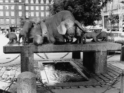 Pig Fountain