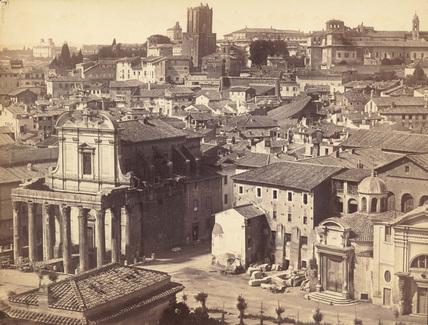Roman Forum;Temple of Antoninus and Faustina