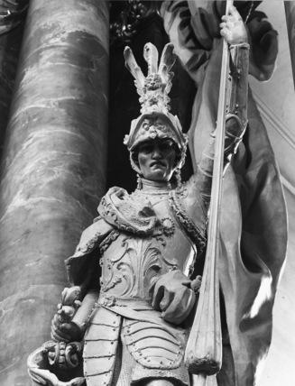 Statue of a Warrior Saint