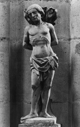 Statue of Saint Sebastian