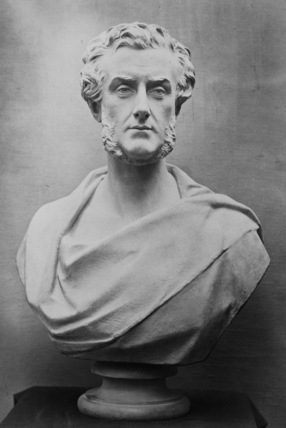 Bust of Lord Shaftesbury