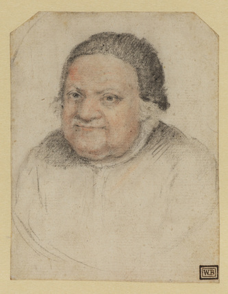 Bust portrait of a woman