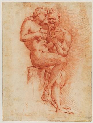 Satyr and Apollo