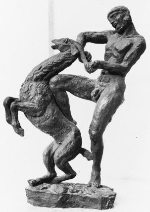 Heracles a la Biche Aux Pieds d'Airain