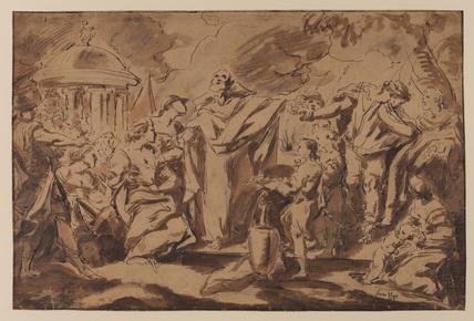 Sacrifice of Polyxena (?)