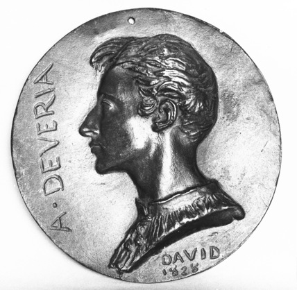 Medallion of Achille Deveria