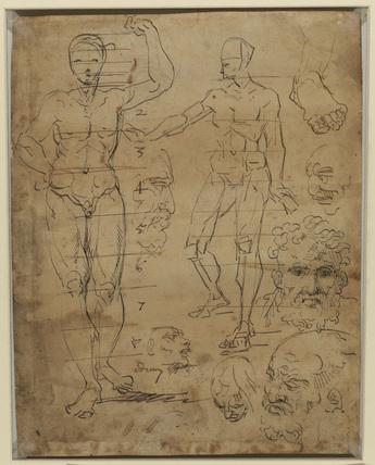Figure studies (verso)