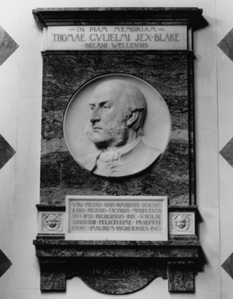 Rugby School;Monument to Thomas William Jex-Blake