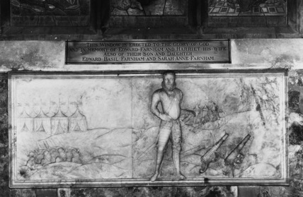 St Bartholomew;Monument to John Farnham and his wife