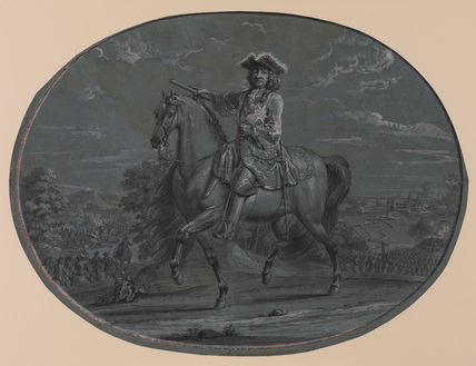 Philippe, Regent, Duke of Orleans, on horseback