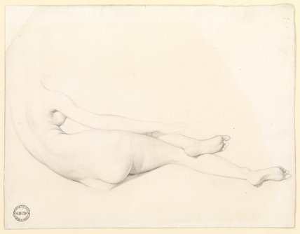 Study for La Grande Odalisque