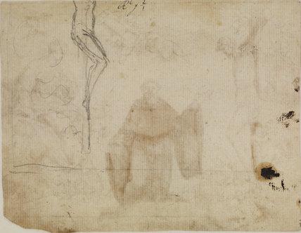 Assumption of a saint (verso)