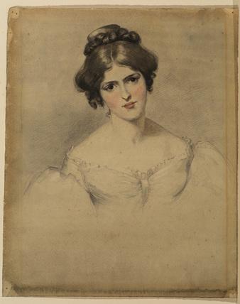 Portrait of Miss Fanny Kemble