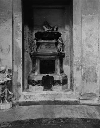Santa Maria degli Angeli;Tomb of Salvatore Rosa