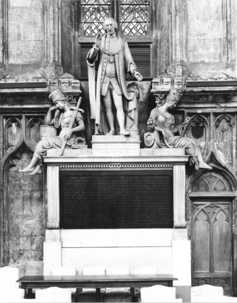 Guildhall;Monument to William Beckford