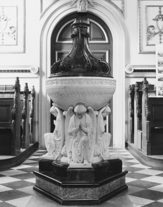 Parish Church of St Michael;Font