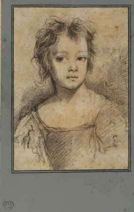 Bust portrait of a girl