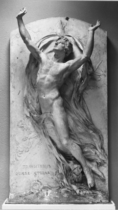 Le Genie de l'Immortalite, Model for the Tomb of J. Reynaud