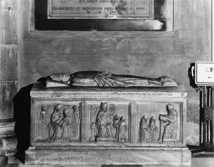 Duomo;Tomb of Bishop Bonifacio da Modena