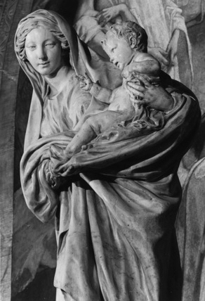 Statue of the Virgin and Child