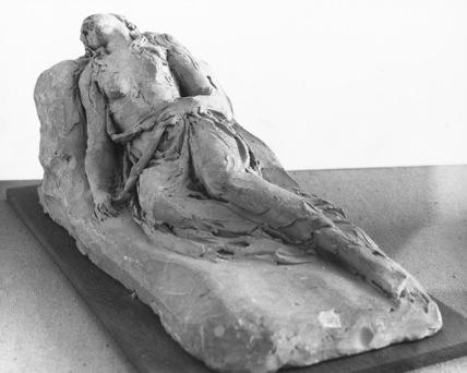 Sketch model of Fainting Magdalen