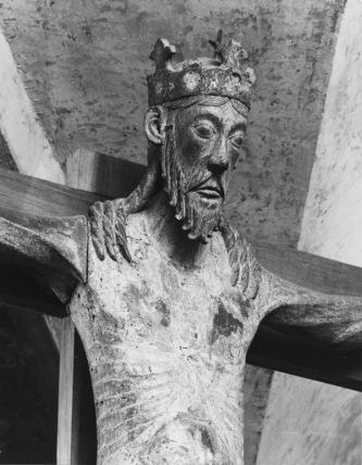 Church of San Pietro;Crucifixion group