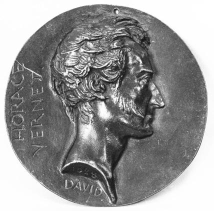 Medallion of Horace Vernet