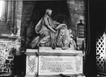 Monument to Sir Dudley Ryder