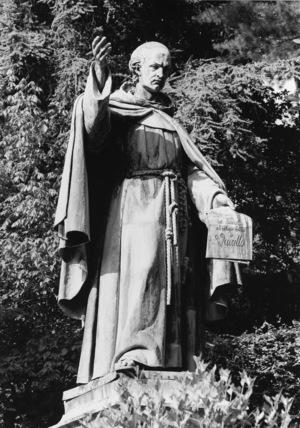 Statue of Bernardino Caimo