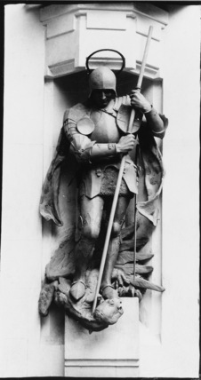 Statue of St George for the British War Cemetery, Jerusalem